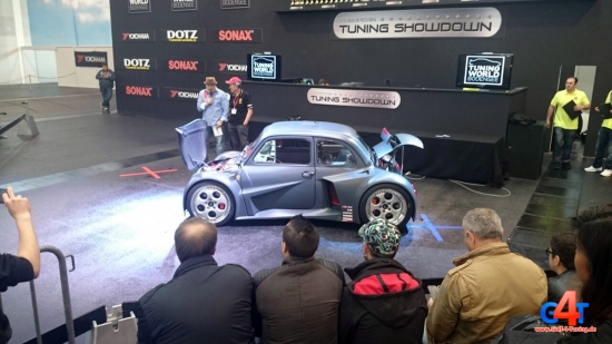 Fiat 500 V12 650 PS Tuning World Bodensee 2015