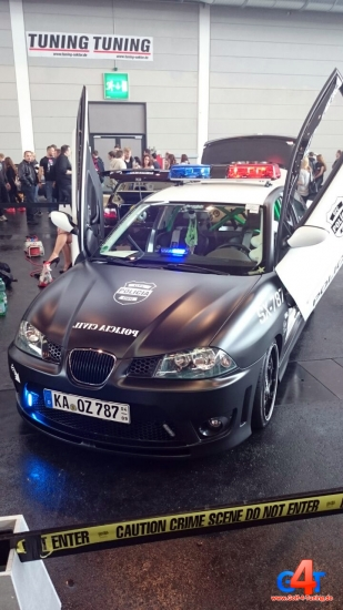 Seat IBIZA Policia Civil Tuning World Bodensee 2015