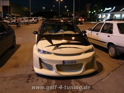 Krasses Tuning Auto aus Castellon Spanien