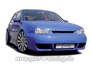 Carline Frontspoiler Golf 4 CS