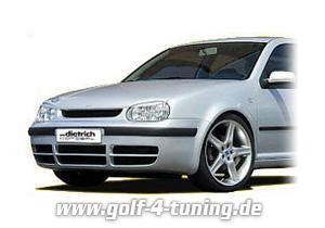 Dietrich Frontspoiler Golf 4 GT