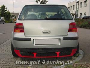 Diffusor Golf 4 Heck