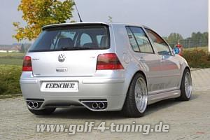 heckansatz golf iv vw hecksch rzenansatz rieger vw golf 4. Black Bedroom Furniture Sets. Home Design Ideas