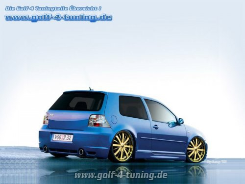 Golf 4 R32 Wallpaper Tuning