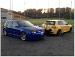 Audi S3 vs. Golf 4