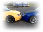 Audi S3 Front vs. Golf 4 Front